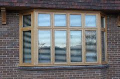 oak wooden traditional joinery fluch casement window