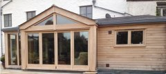 Oak 4 Door Bi-fold set & frame