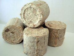 Bond Eco-Fuel Briquettes Sawdust Fuel blocks