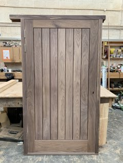 Walnut TGV Door and frame