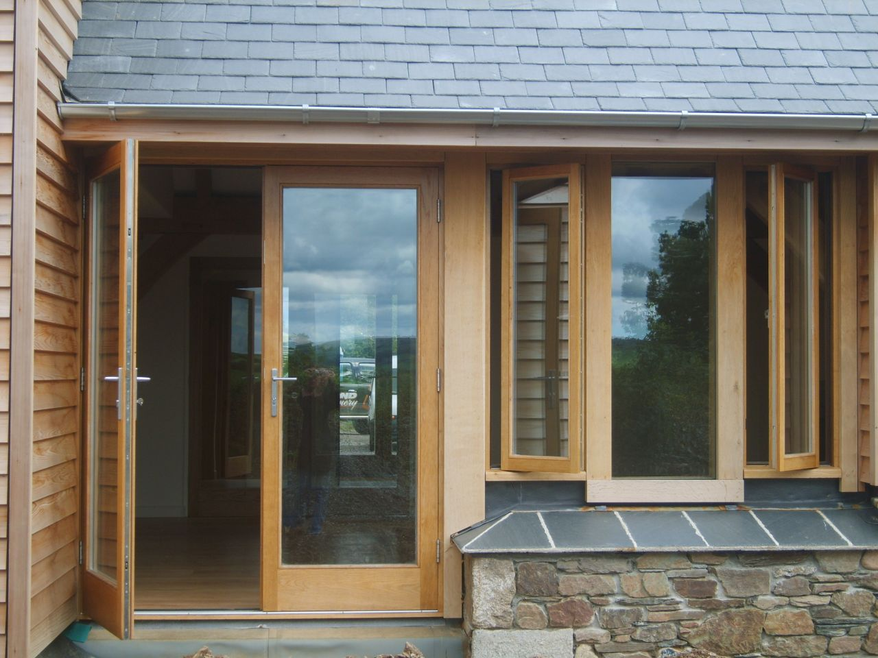 Bond joinery totnes devon hardwood softwood wooden for Door u value calculator